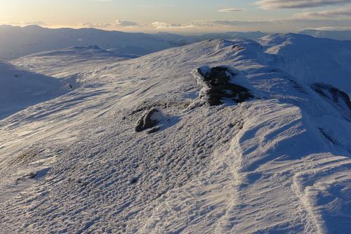 Utsikt fra toppen av Fuglafjell.