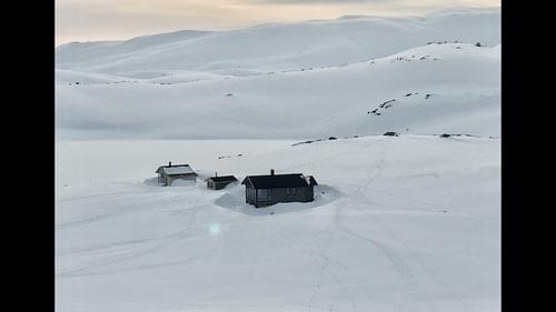Vinter ved Haakonsbu