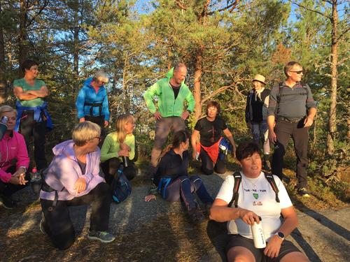 Referat AKTIVS skogtur til Stamnåstoppen 16.9