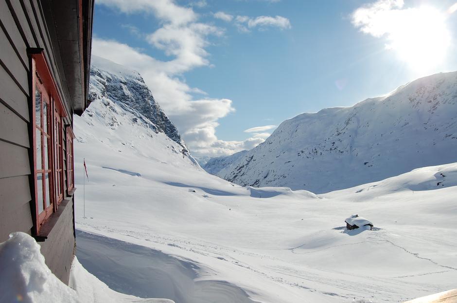 Usikt fra Nørdstedalseter  Foto: Nordstedalseter