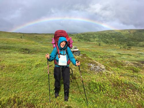 2017: Ingrid Fjellberg er en av de siste som har gått Norge på langs.