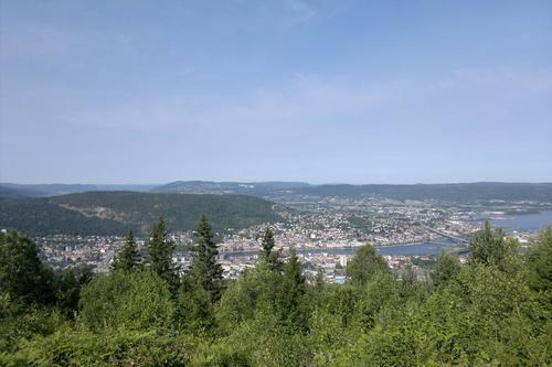 Utsikt fra Haukåstoppen