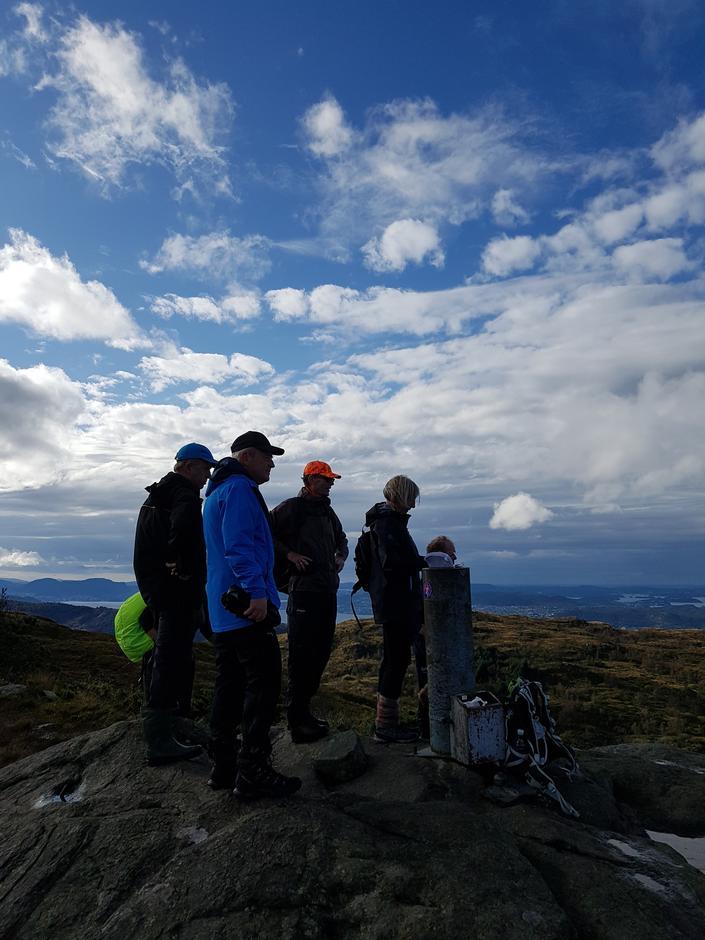 Toppen på Tellevikfjellet