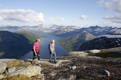 Kobbenestinden, Efjord.
