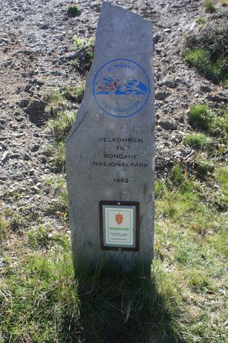 Inn i Rondane nasjonalpark