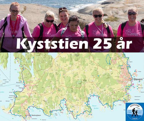 Velkommen til markering av kyststiens 25 års jubileum