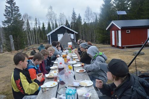 3 årstider på overnattingstur til Hoggerstua