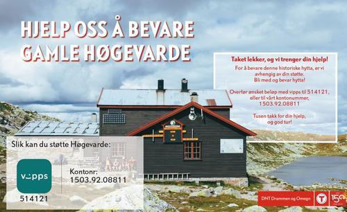 Hjelp oss å bevare Gamle Høgevarde.