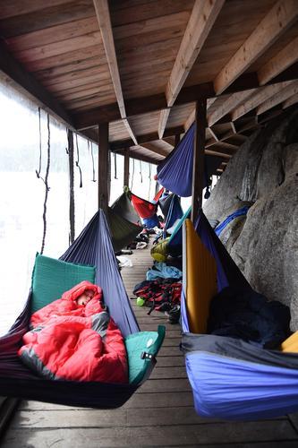 MAGI. En god natts søvn i hengekøye på brygga.