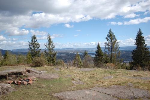 Utsikt fra Grosetkollen