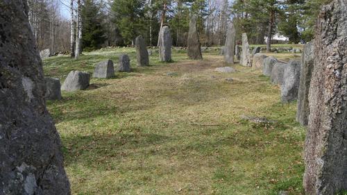 Istrehågan - gravplass fra Jernalderen 500 f-Kr - 1000 e.Kr.
