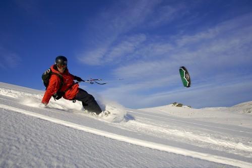Lær kiting på singeltreffet. Foto: DNT Oslo og Omegn
