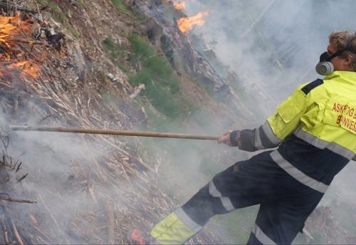 Ekstrem stor skogbrannfare