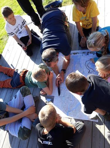 Opplæring kart og kompass