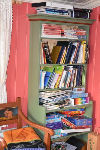 Bøker for barna på Svukuriset.