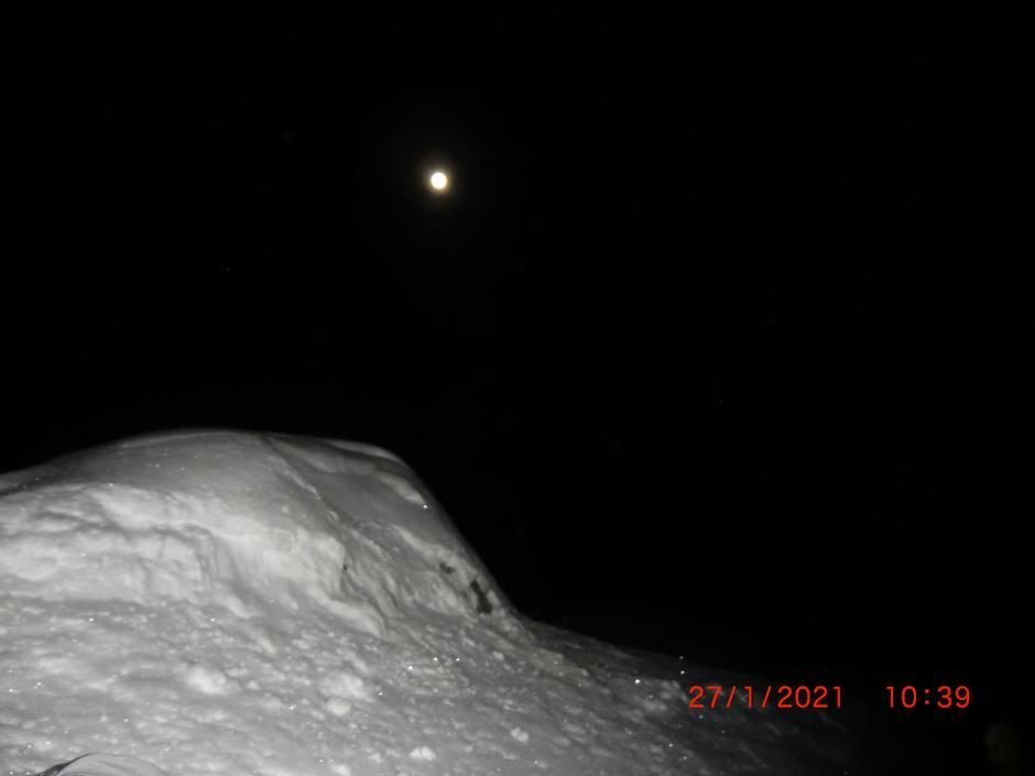 Måneskinnstur ved Kruk