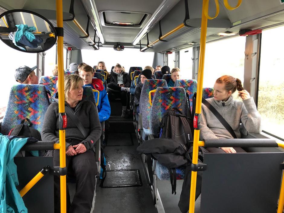 Bussturen frå ytre