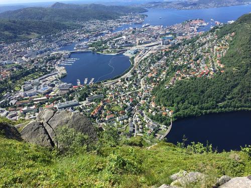 Utsikt fra Ulrikseggen