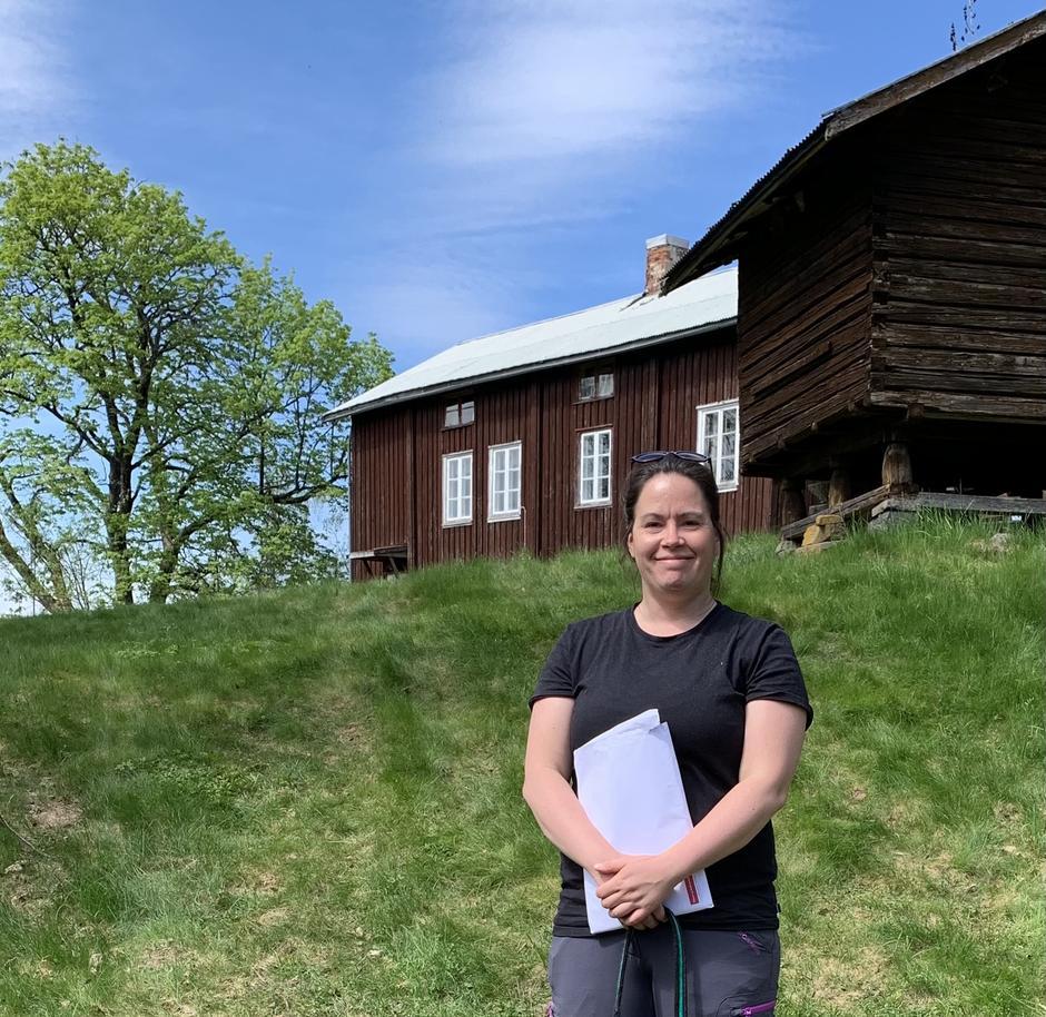 Hyttesjefen Anette Andersen har fulgt opp Finnsbråten helt fra starten. Nå overtar hun Snippkoia