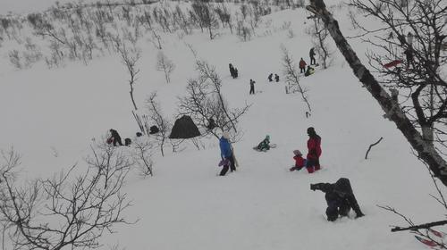 Skitur med Barnas Turlag