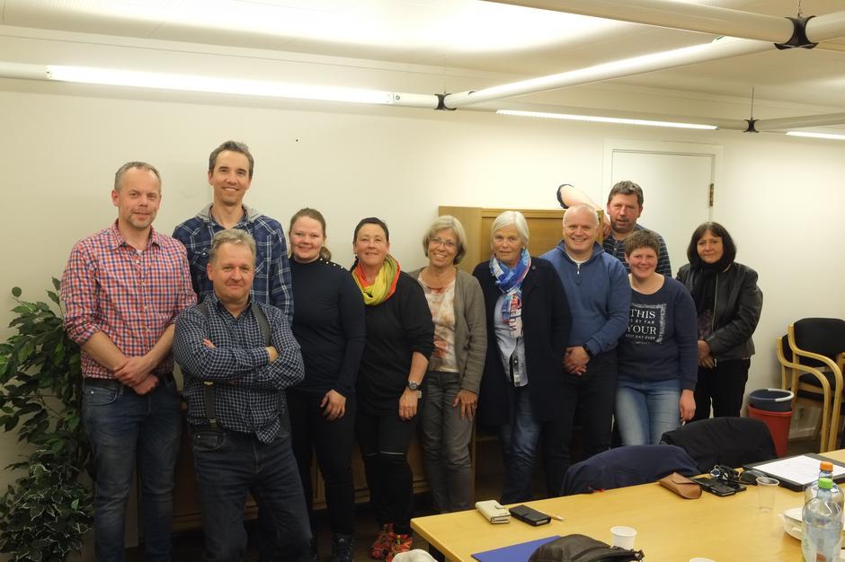 Det nye styret i DNT Finnskogen og Omegn