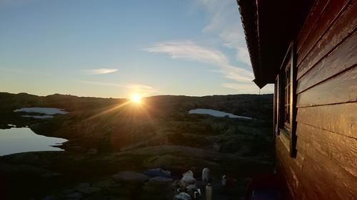 Solnedgang, Skavlabu