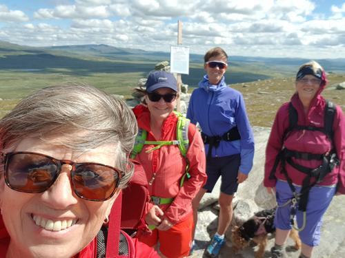 1. august var det Kremtopptur til Kjølafjellet