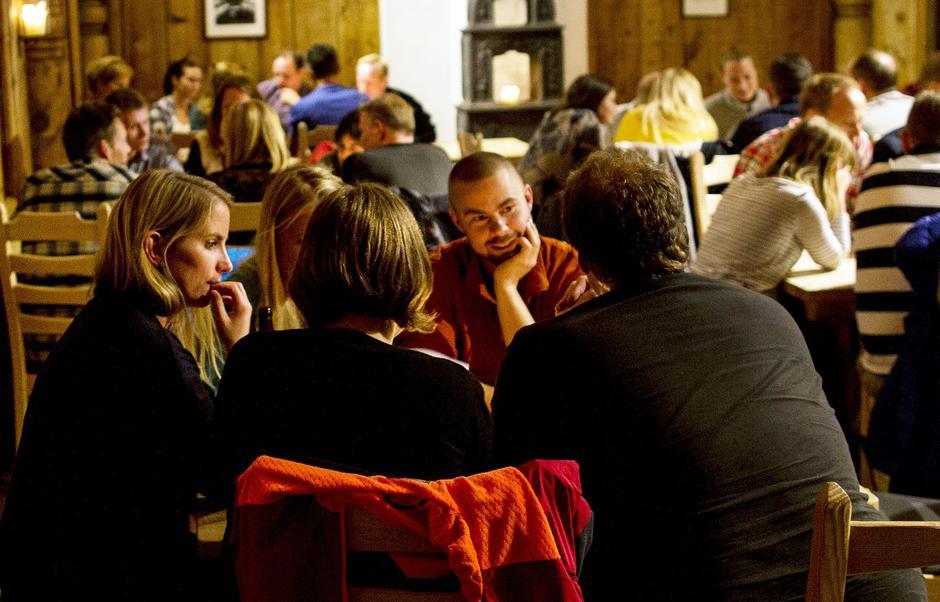 SINGEL PÅ FJELLET er et populært turkonsept som veksler mellom turgåing og felles aktiviteter inne.