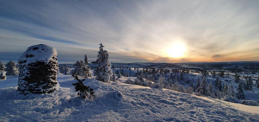 Vinter på Gautefallheia