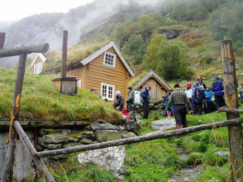 Aurlandsdalen  Sinjarheim Foto Hilde Løken Magnussen