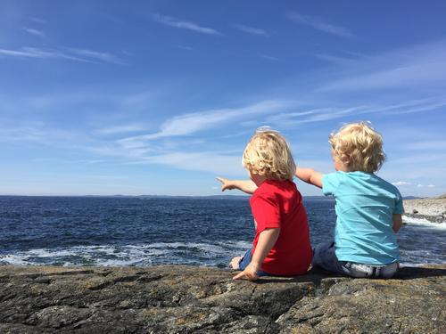Fem fine turer langs kysten