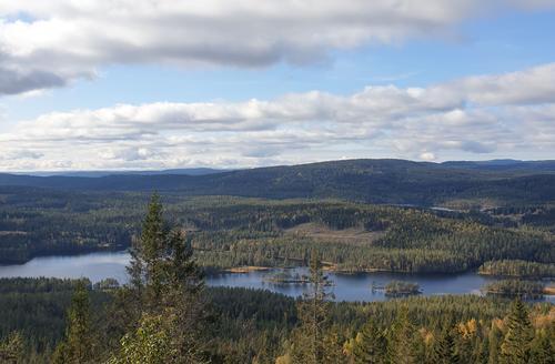 Øyungen sett fra Sellanrå.