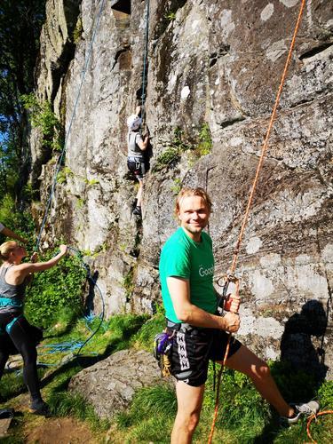 DNT Ung hadde klatrekveld