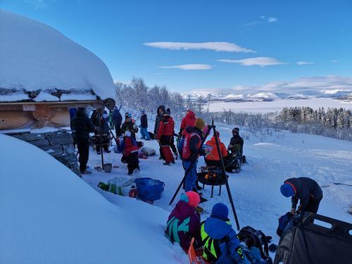Kom deg ut-dagen vinter 2019 ved Hardangervidda Nasjonalparsenter
