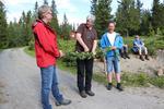 28. juni åpnet klima- og miljøministeren tursti til Fønhusgamma