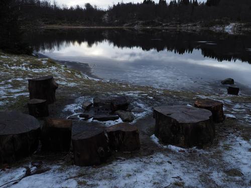 Damvannet i Kanebogen