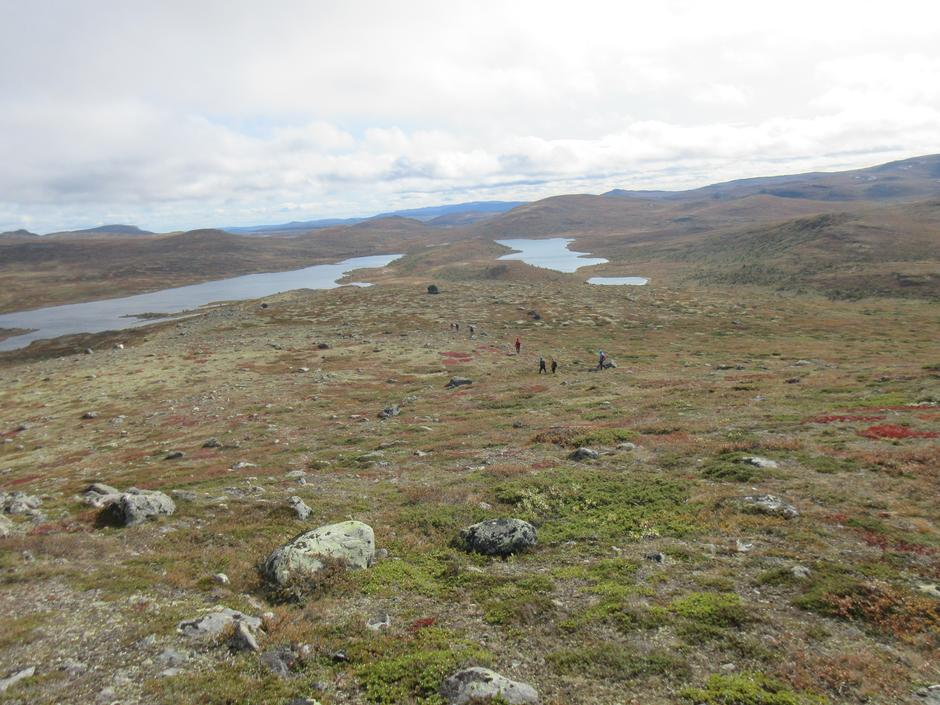 På veg mot Agnsjøen