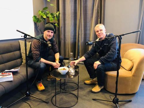 Tune in, vi lanserer podcast!
