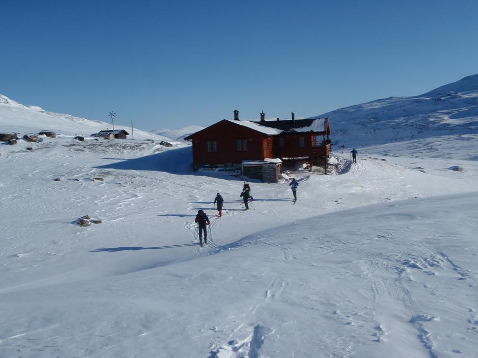 Vinter på Pyttbua