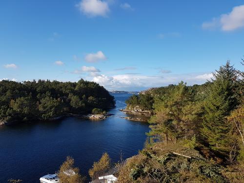 Frå nord på Bildøyna
