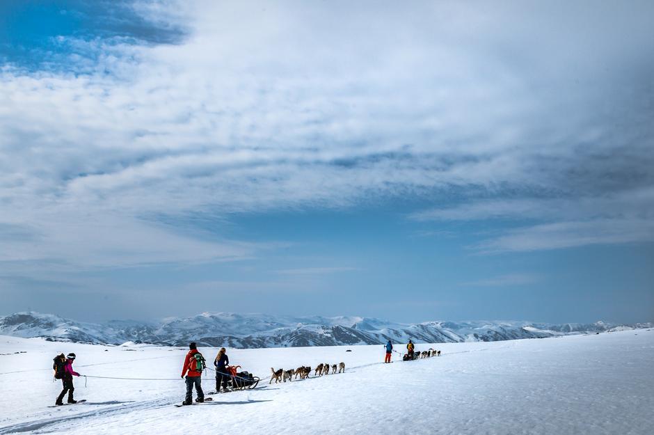 Området rundt Torfinnsbu er uten tvil spektakulært.