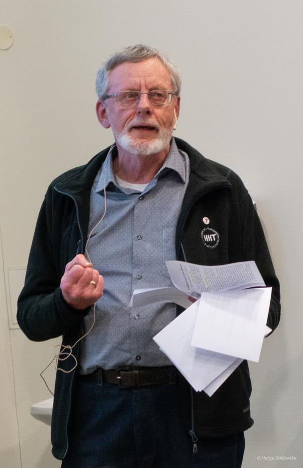 Æresmedlem Tore Nilsen under HHTs årsmøte 10. mars 2020.