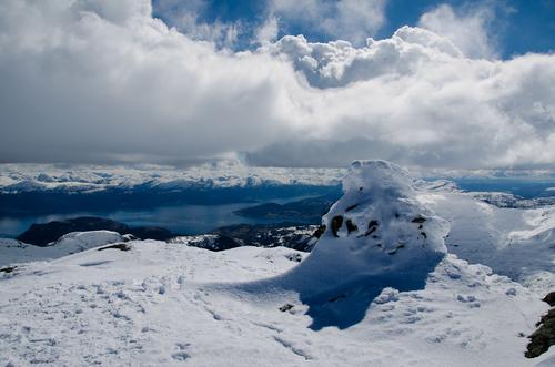Utsikt frå Vetla Manfjell