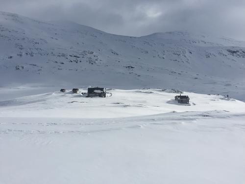 Toppturer rundt Danskehytta i Tafjordfjella 23. - 25. Mars 2018