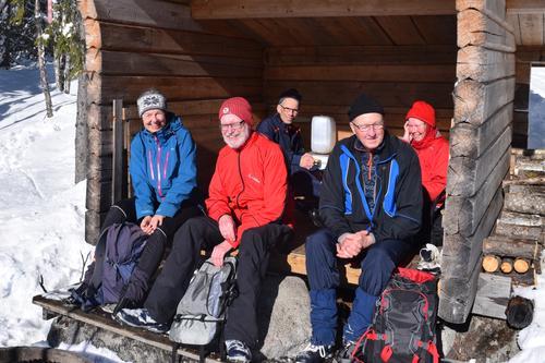 Sol, snø og ski på Vardalsåsen