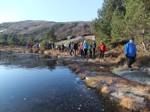 På vinterføre til Haganesfjellet