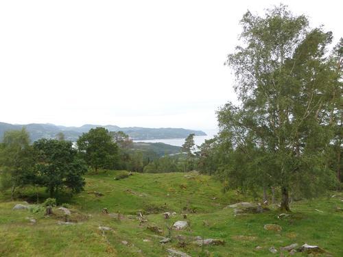 Utsikt frå Verpekassen på Sigmundstad