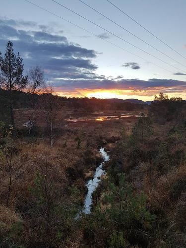 Hauststemning ved Lonena, Knarvik