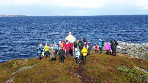 Onsdagstur til Rubbegarnståna på Hellesøy