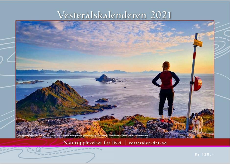 Forsidebildet er fra Skårvågfjellet.